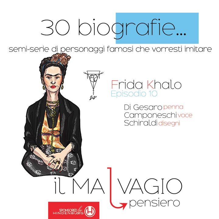 10 - Frida Khalo: icona accigliatissima dell'arte