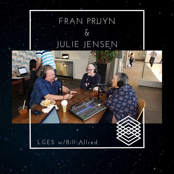Fran Pruyn and Julie Jensen