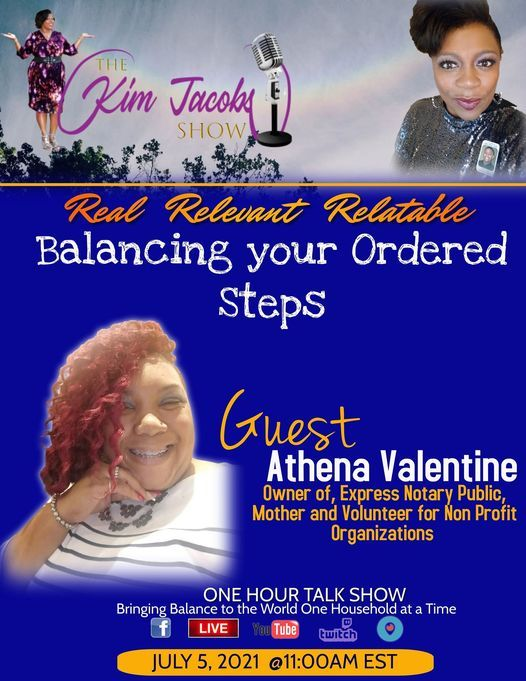 Balancing Your Ordered Steps