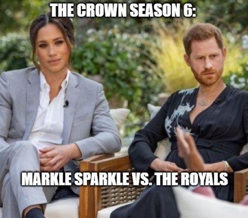 Markle Sparkle vs. the Royals