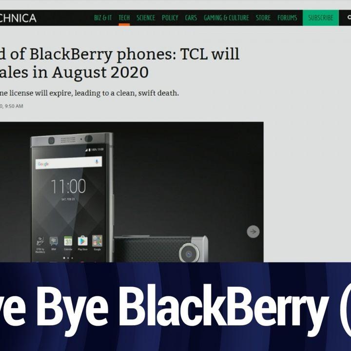 Saying Goodbye to BlackBerry Phones | TWiT Bits