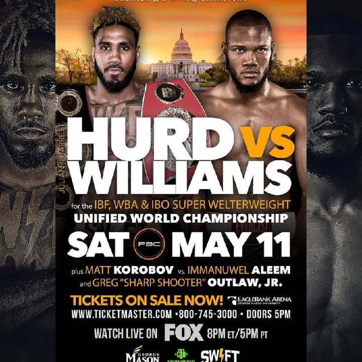 Preview Of Big PBCONFOX Boxing Card Headlined By Jarrett Hurd-Julian Williams For IBF/WBA/IBO Superwelterweight Title's+Main Card
