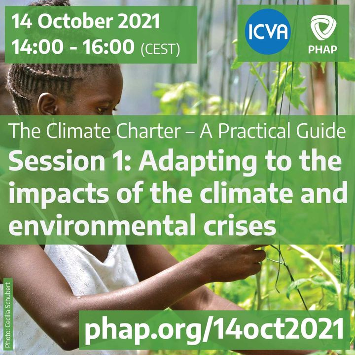 Adapting to the impacts of the climate and environmental crises
