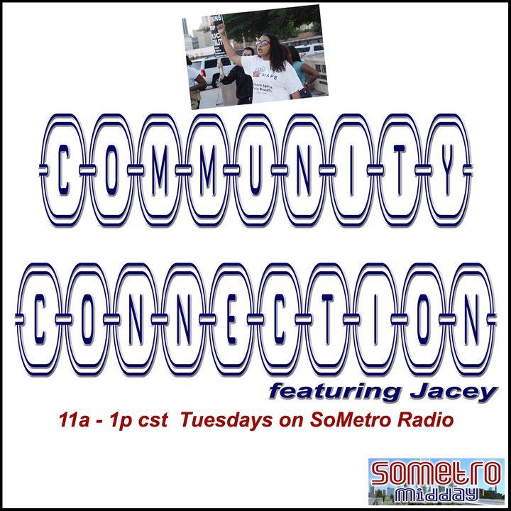 Community Connection ft Jacey Jun 7 2016 S3E2 - Guest Sergeant Cheryl Dorsey Ford @sgtcheryldorsey