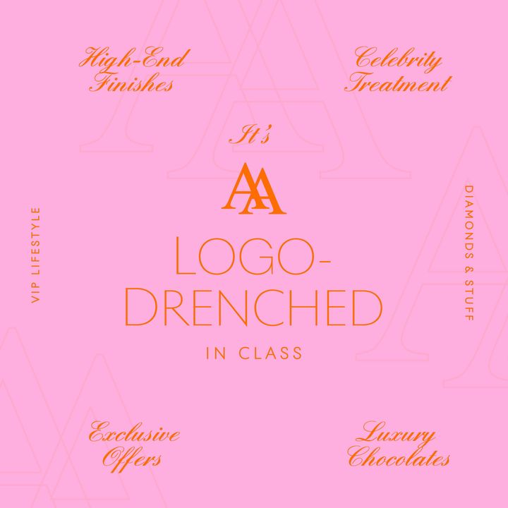 A Logo Drenched in Class