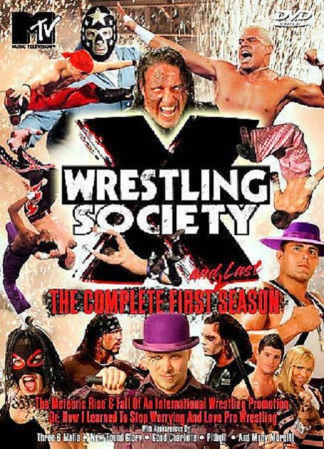 ENTHUSIASTIC REVIEWS #146: Wrestling Society X Episodes 1, 3, 5, and 10 Watch-Along