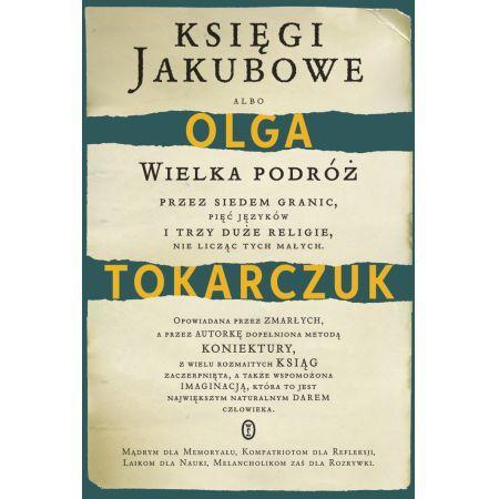 "01. ""Księgi Jakubowe"" Olga Tokarczuk"
