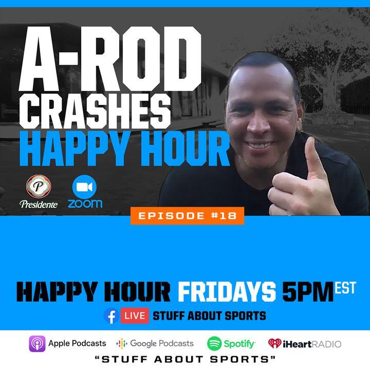 "A-Rod Crashes ""Sports Bar Happy Hour"""