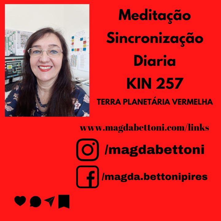 Meditação de Sincronização Diária- KIN 257