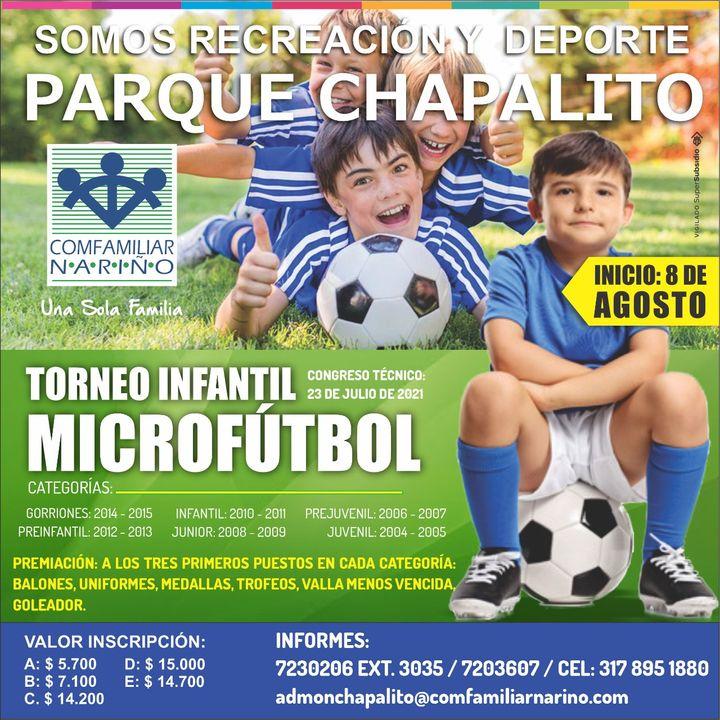 Jhanet Eraso Torneo Infantil Microfutbol