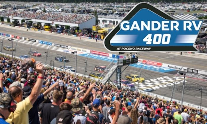 The NASCAR Show:Gander RV 400 at Pocono and what to expect in the final five races before the Cup Playoffs. They also cover Xfinity and more