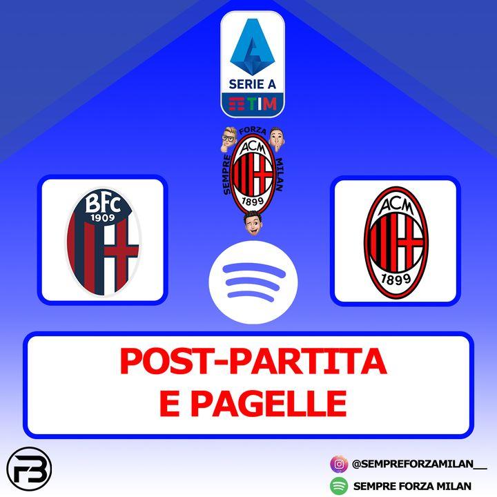 BOLOGNA-MILAN 1-2 | PAGELLE e Post Partita