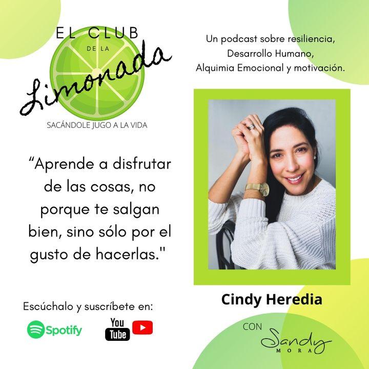 Episodio 38: Cindy Heredia ¿quién cuida a los que cuidan?