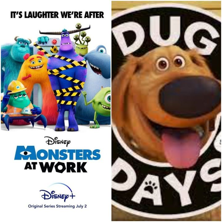 TV Party Tonight: Monsters at Work (Season 1) and Dug Days