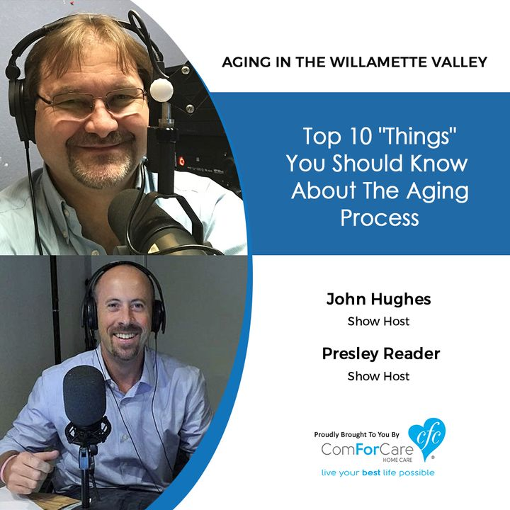 """1/15/19: John Hughes and Presley Reader with Aging In The Willamette Valley 