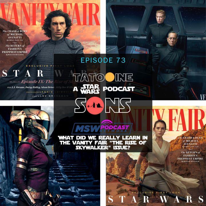 Vanity Fair: The Rise of Skywalker Issue Analysis