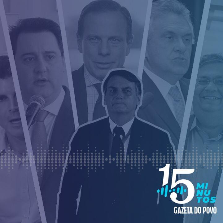 Um novo round entre Bolsonaro e governadores no pior momento da pandemia