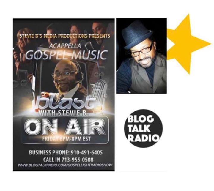 Stevie B's A Cappella Gospel Music Blast - (Episode 168)