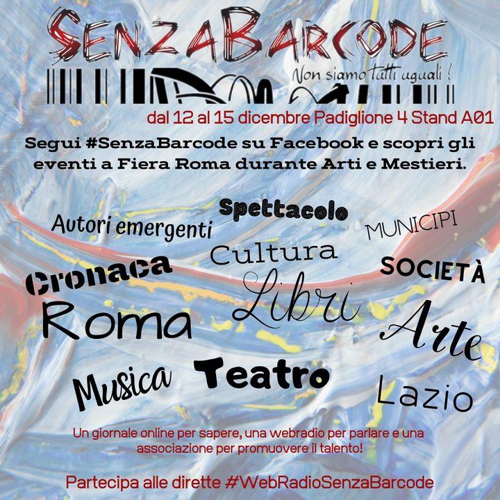 In diretta dalla Fiera di Roma, il programma #SenzaBarcode