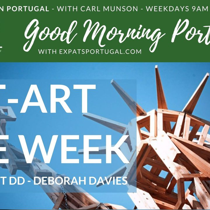 St-ART the week on The Good Morning Portugal! Show