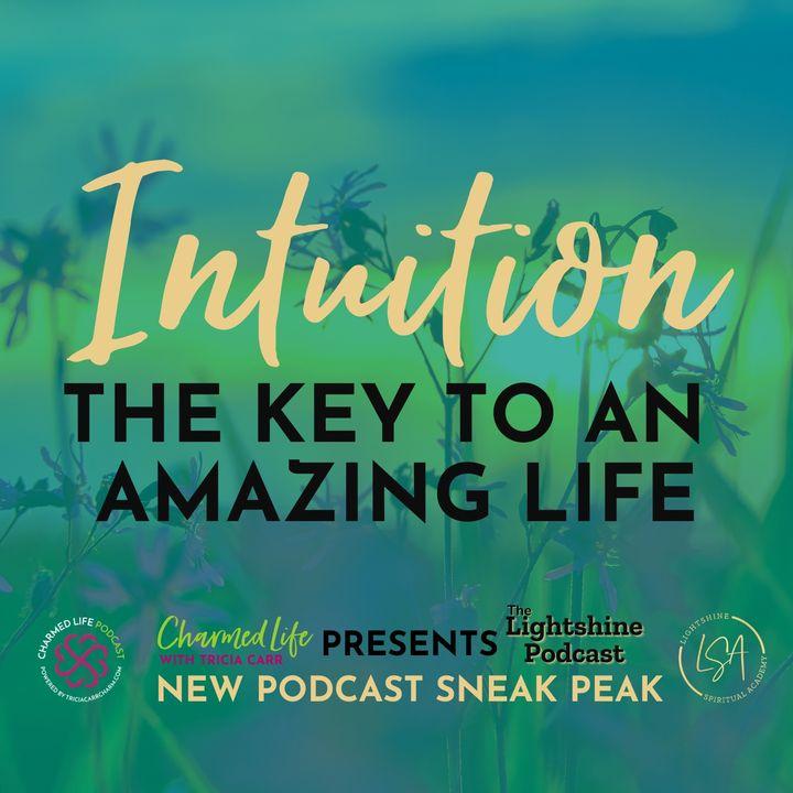 Sneak Peak of The Lightshine Podcast   Spiritual Teachers, Tricia Carr + Crystal Anne Compton