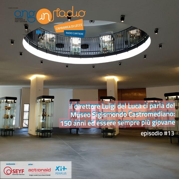 Puglia - Radio Cantiere #13 - Luigi De Luca e il Museo Sigismondo-Castromediano