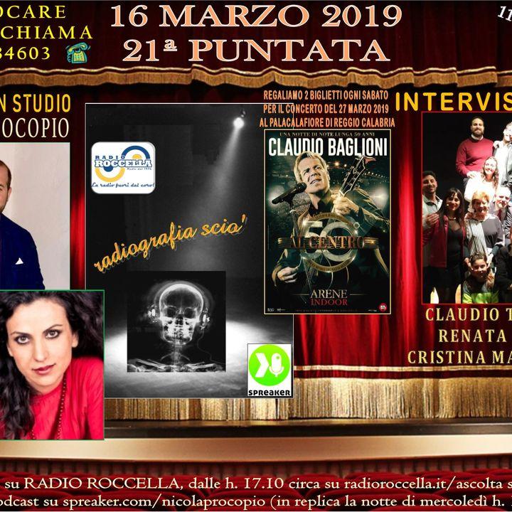 Radiografia Scio' - N.21 del 16-03-2019