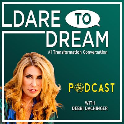 DR. MORGAN OAKS: on #clarity #courage, and #InspiredAction On Dare to Dream Podcast with Debbi Dachinger #shaman #energy #travel