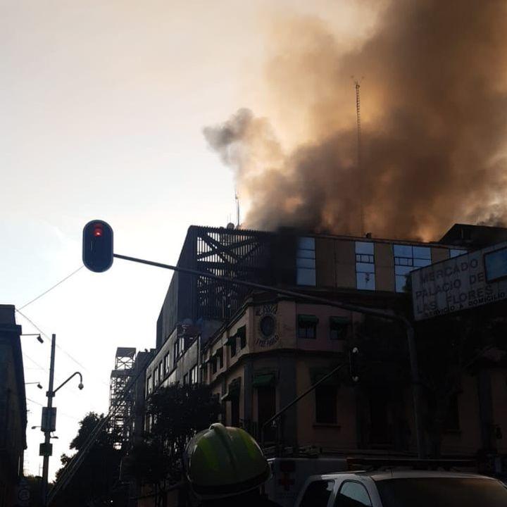 Incendio en el Centro de Control del Metro