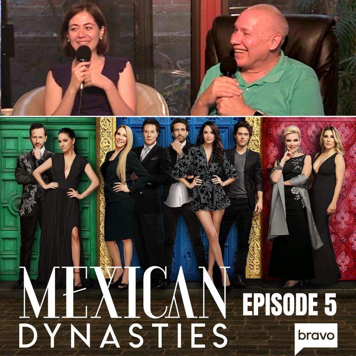 """Tv Episodio 5 de Dinastías Mexicanas """"Rencores y Gefilte Fish"""" - Comentario de David Hoffmeister"""