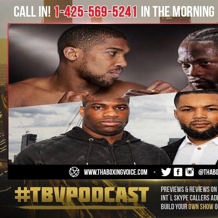 ☎️Joshua vs Wilder vs Fury Winner $150 Million EACH😱 Dubois vs Joyce Done❓