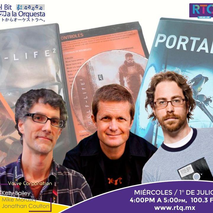 243 - Músicos en Valve; Kelly Bailey, Mike Morasky & Jonathan Coulton