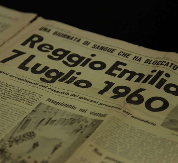 7 luglio 1960 - La strage di Reggio Emilia