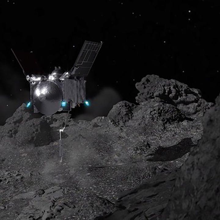 Sonda Osiris-Rex della Nasa tocca l'Asteroide Bennu
