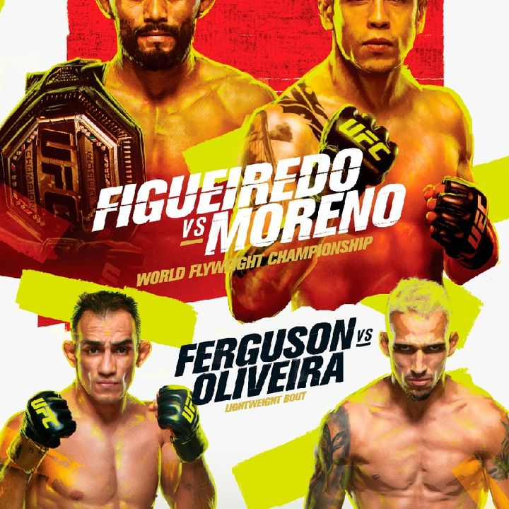 Preview Of UFC256 Headlined By Deiveson Figueiredo - Brandon Moreno For The Ufc Flyweight Title Live On ESPN In Las Vegas