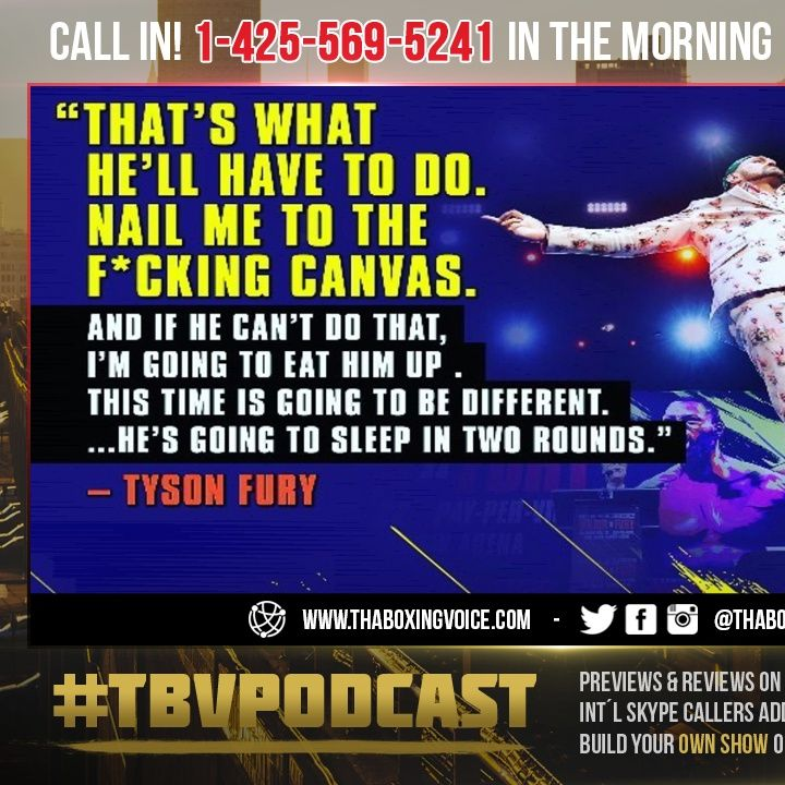 ☎️Tyson Fury Reveals 3-Fight Plan🤔Including Deontay Wilder, Anthony Joshua and Dillian Whyte😱