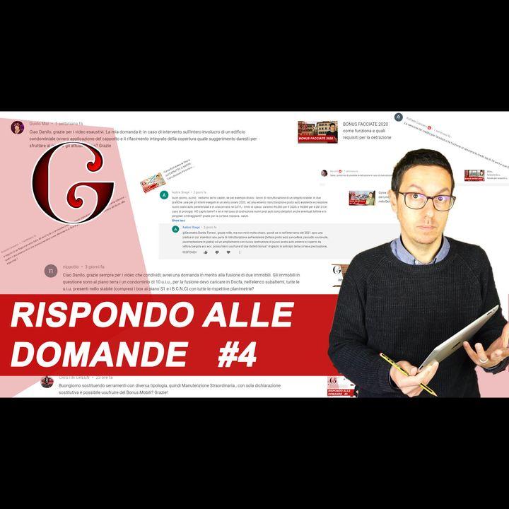 RISPONDO ALLE DOMANDE NEI COMMENTI DI YOUTUBE: FAQ #4