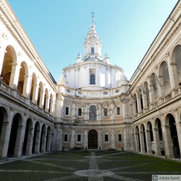 La Chiesa di San't Ivo alla Sapienza Borromini