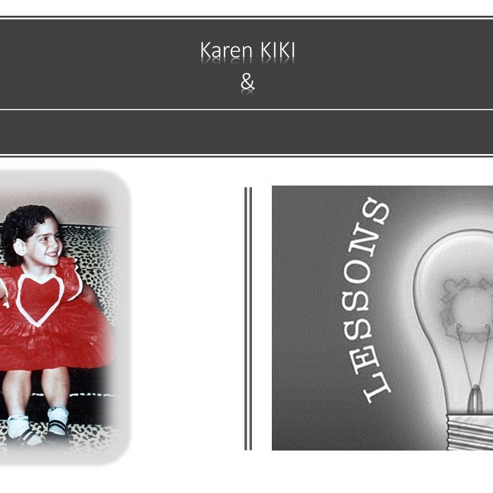Lessons Learned with Karen KIKI