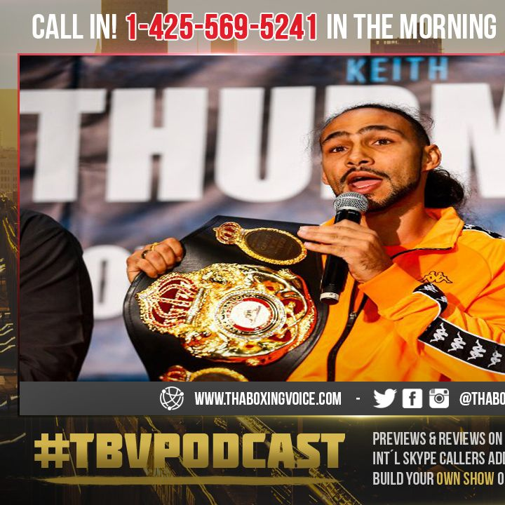 """☎️Biggest Fight of the Year """"No VADA"""" Testing🤦🏿♂️Pacquiao vs Thurman😱Safety First?????🤔"""