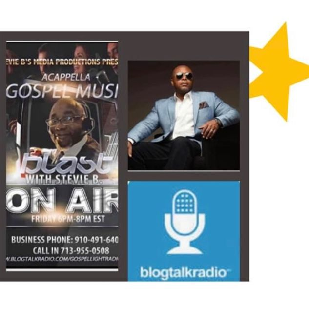 Stevie B. A Cappella Gospel Music Blast - (Episode 196)