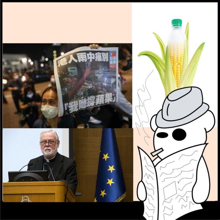 Ddl Zan, bioplastiche e censura a Hong Kong