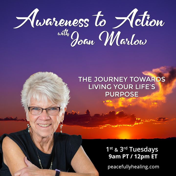 Awareness to Action with Joan Marlow: The Journey Towards Living Your Life's Purpose