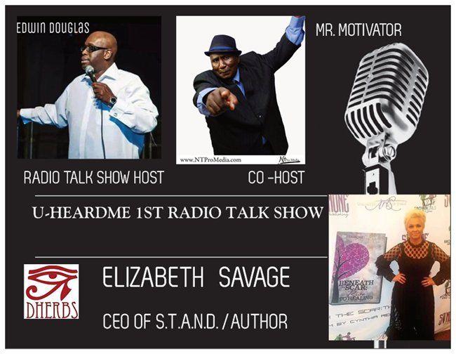 Uheardme1st RADIO TALK SHOW - CEO OF STAND ELIZABETH SAVAGE
