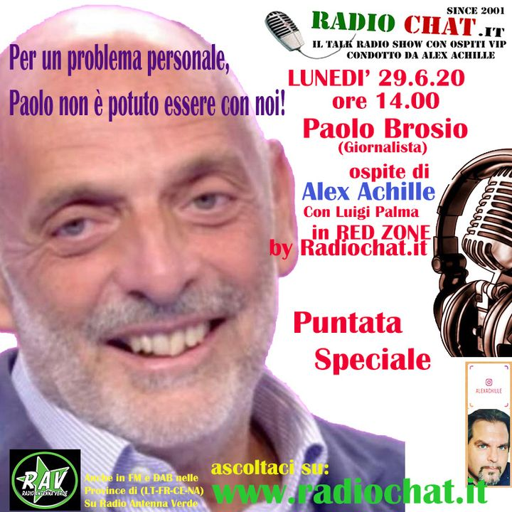 "Alex Achille e Luigi Palma in ""Red Zone"" by Radiochat.it"