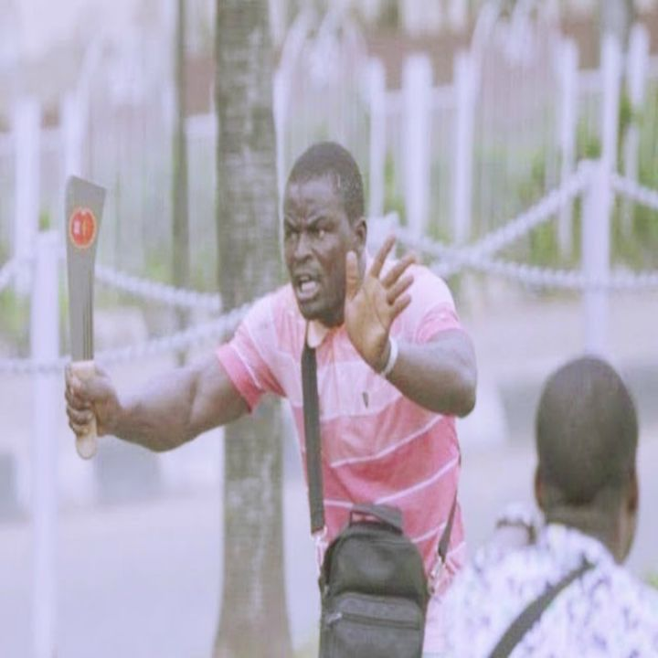 Lagos Residents Identify One Among Thug Who Attacked Lagos Protesters In Alausa.
