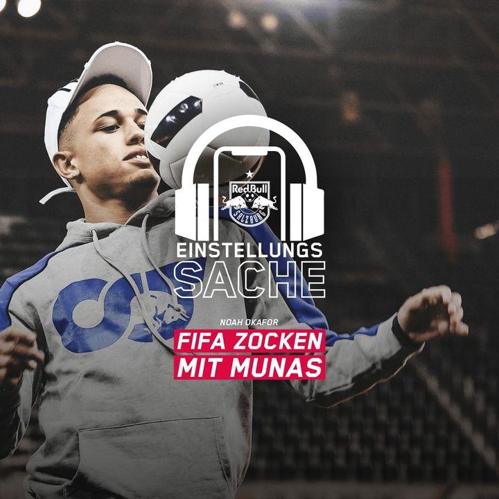 Noah Okafor – FIFA-zocken mit Munas