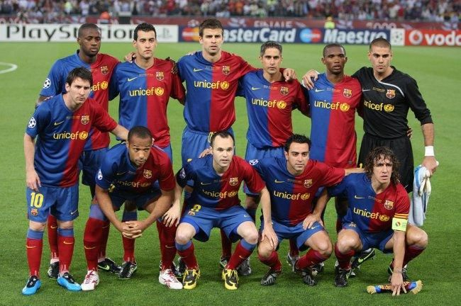 TRANSFER TIME TUNNEL: FC Barcelona 2009 - Featuring Messi, Henry & Xavi
