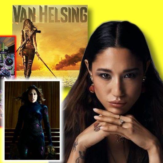 #383: Jennifer Cheon Garcia from Van Helsing and Supergirl!