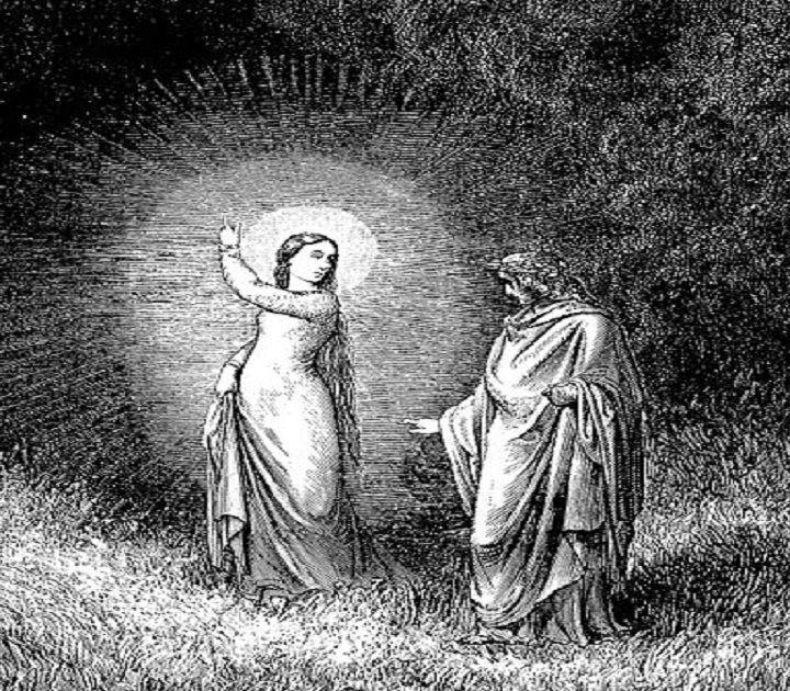 Beatrice, la donna angelo di Dante che visse due volte, grazie al cuore delle grandi donne del '900